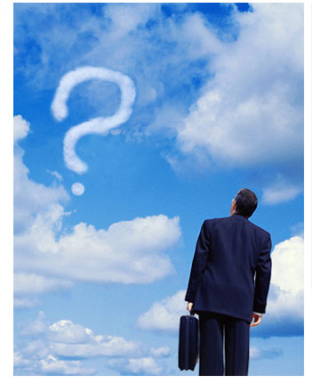 coach mirando al cielo empresarial